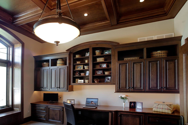 Awe Inspiring Okauchee Lake Home Office Barenzbuilders Theyellowbook Wood Chair Design Ideas Theyellowbookinfo